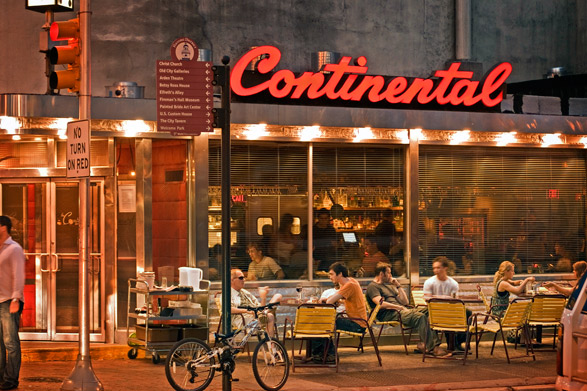 The Continental Restaurant And Martini Bar Visit