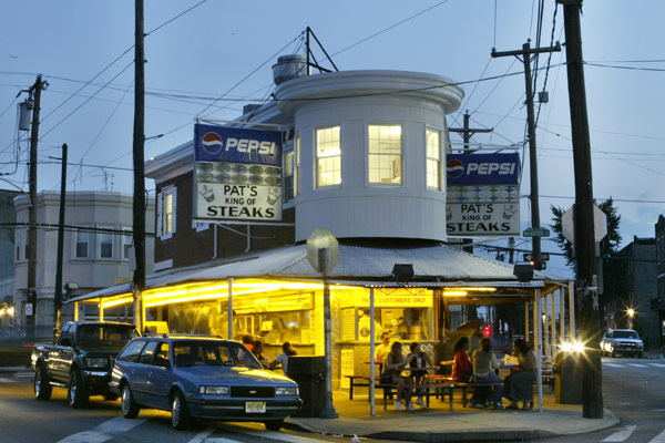 Pat's Cheesesteaks